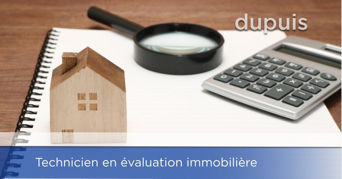 Technicien en évaluation immobilière