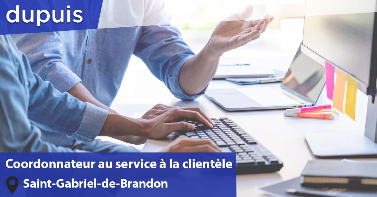 Coordonnateur service clientèle