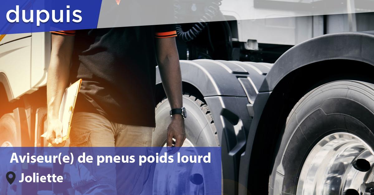 Aviseur de pneus poids lourd